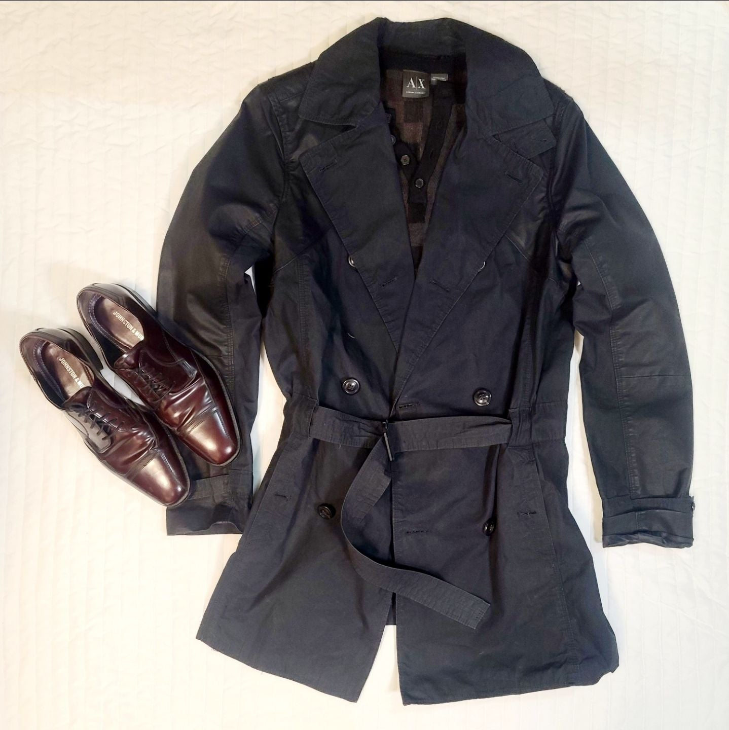 Trench Coat for Men by Armani Exchange