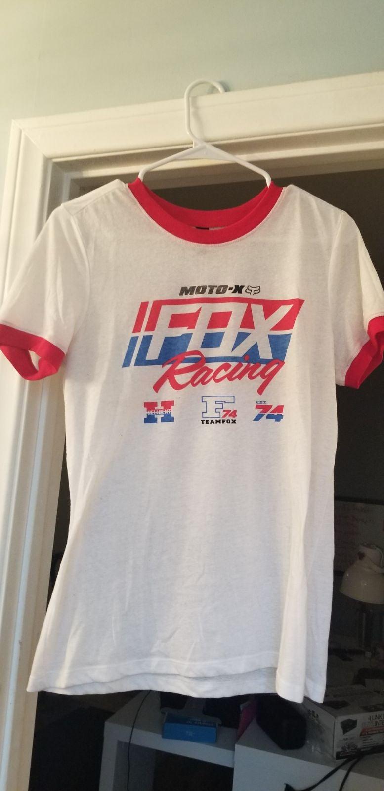 Vintage Fox Racing Shirt Motocross