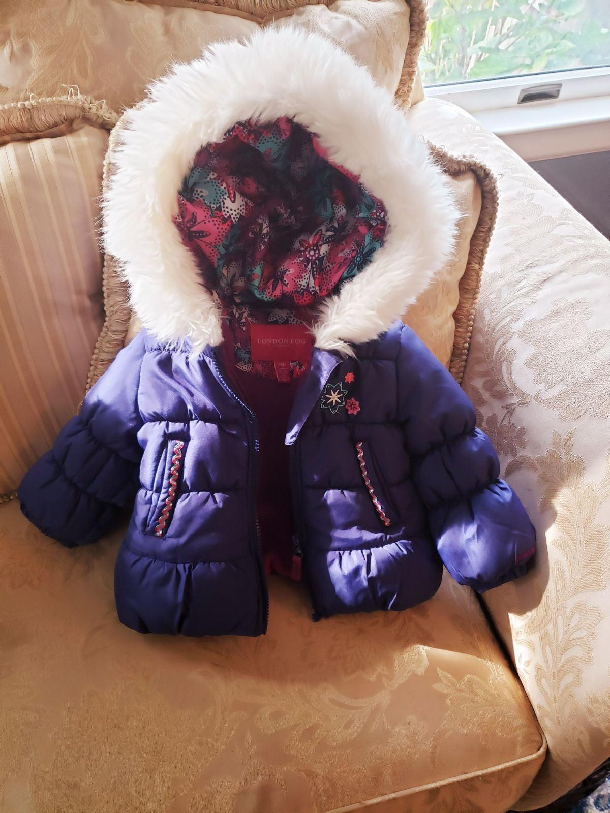 London Fog Toddler Winter Coat