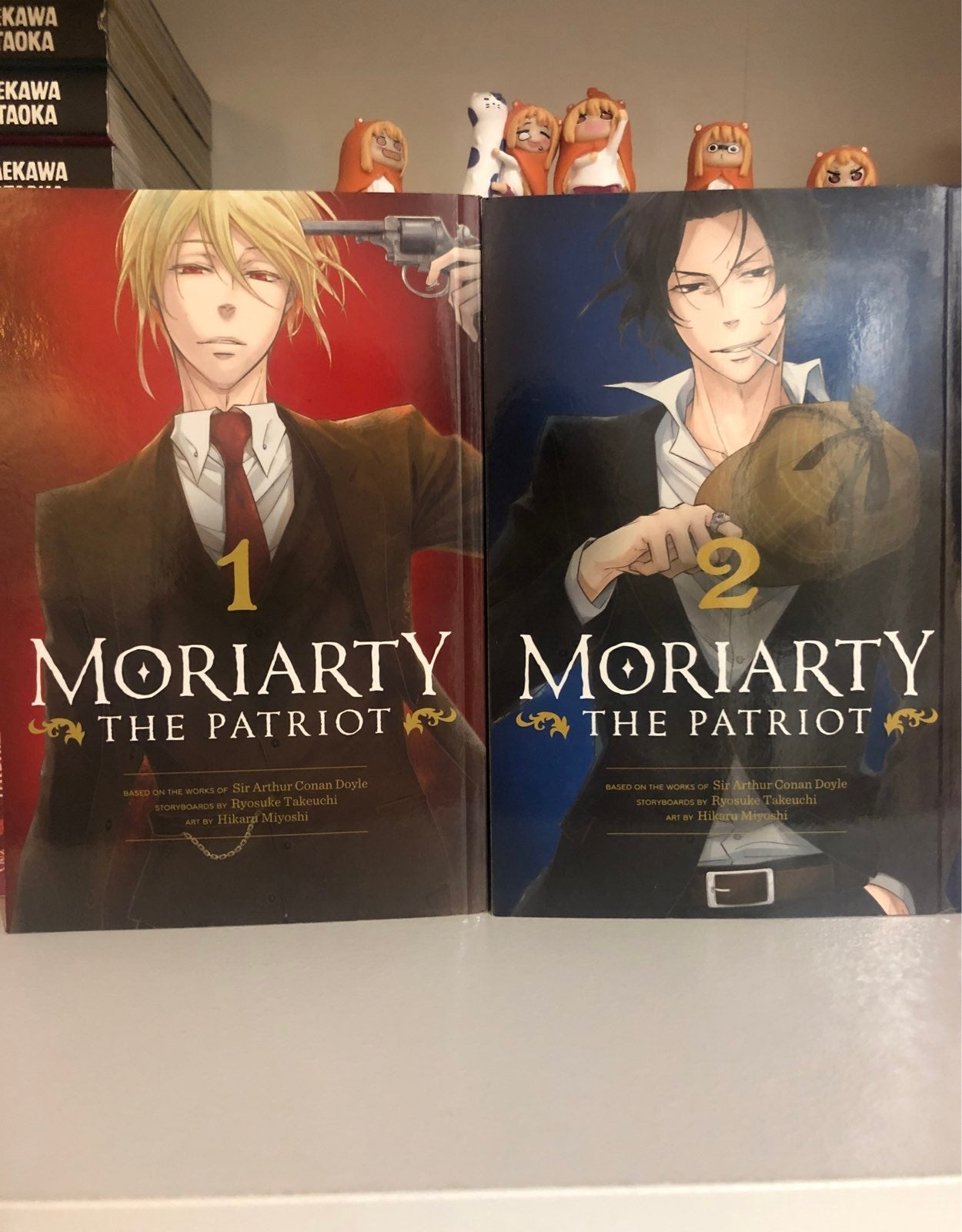 Moriarty the Patriot vols 1 and 2