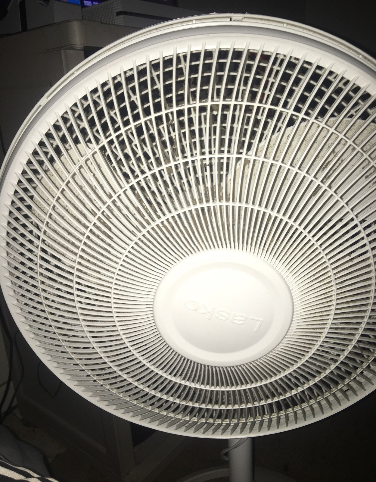 Broken fan