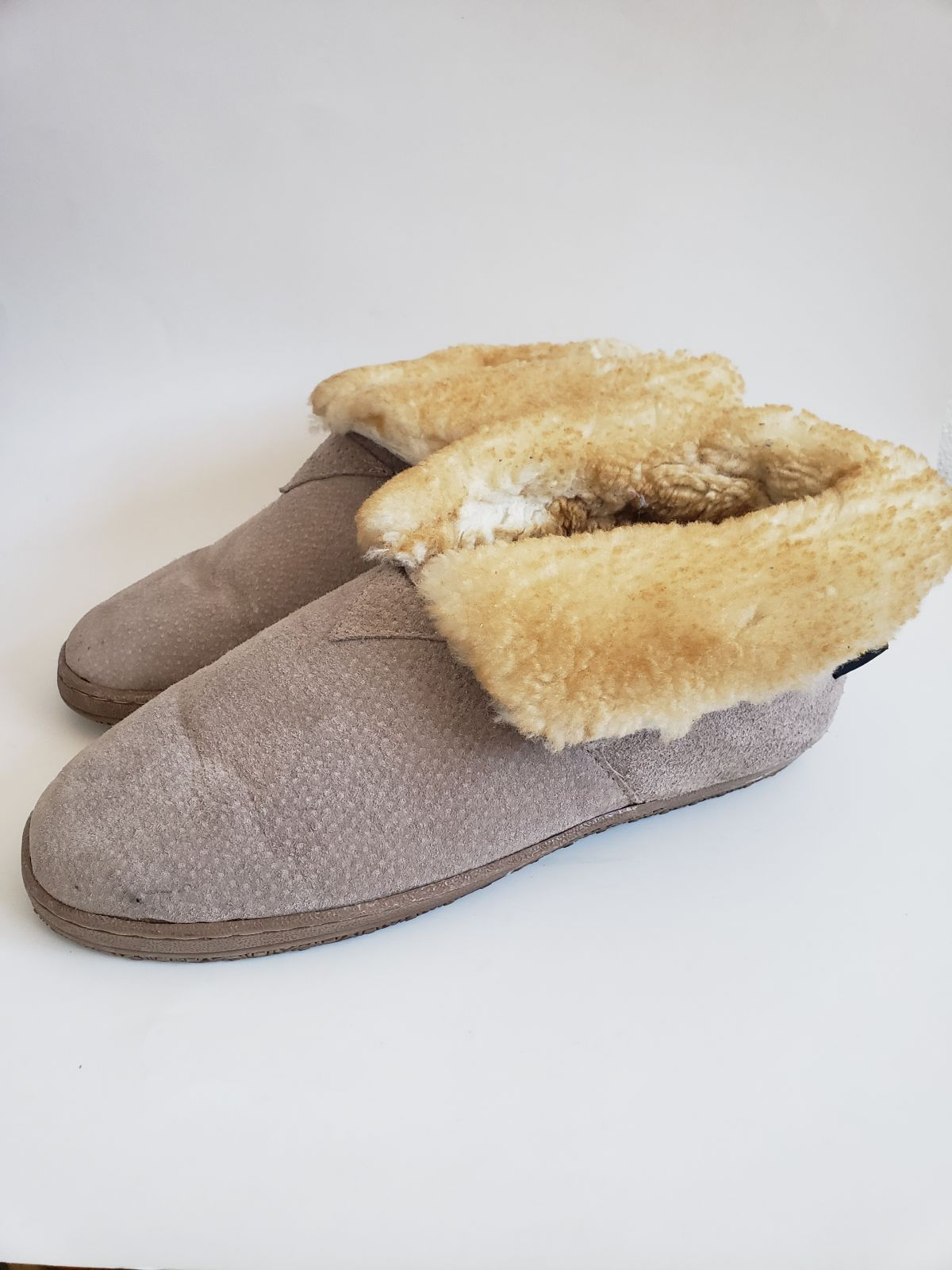 OLD FRIEND pure sheepskin booties