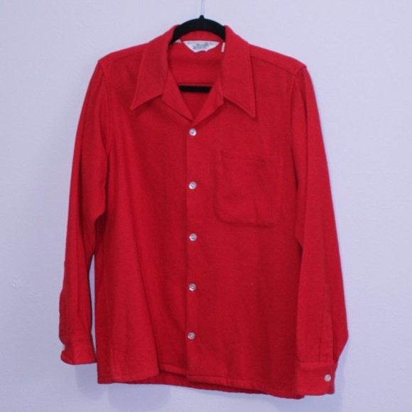 Woolrich Small Vintage Wool Button Up