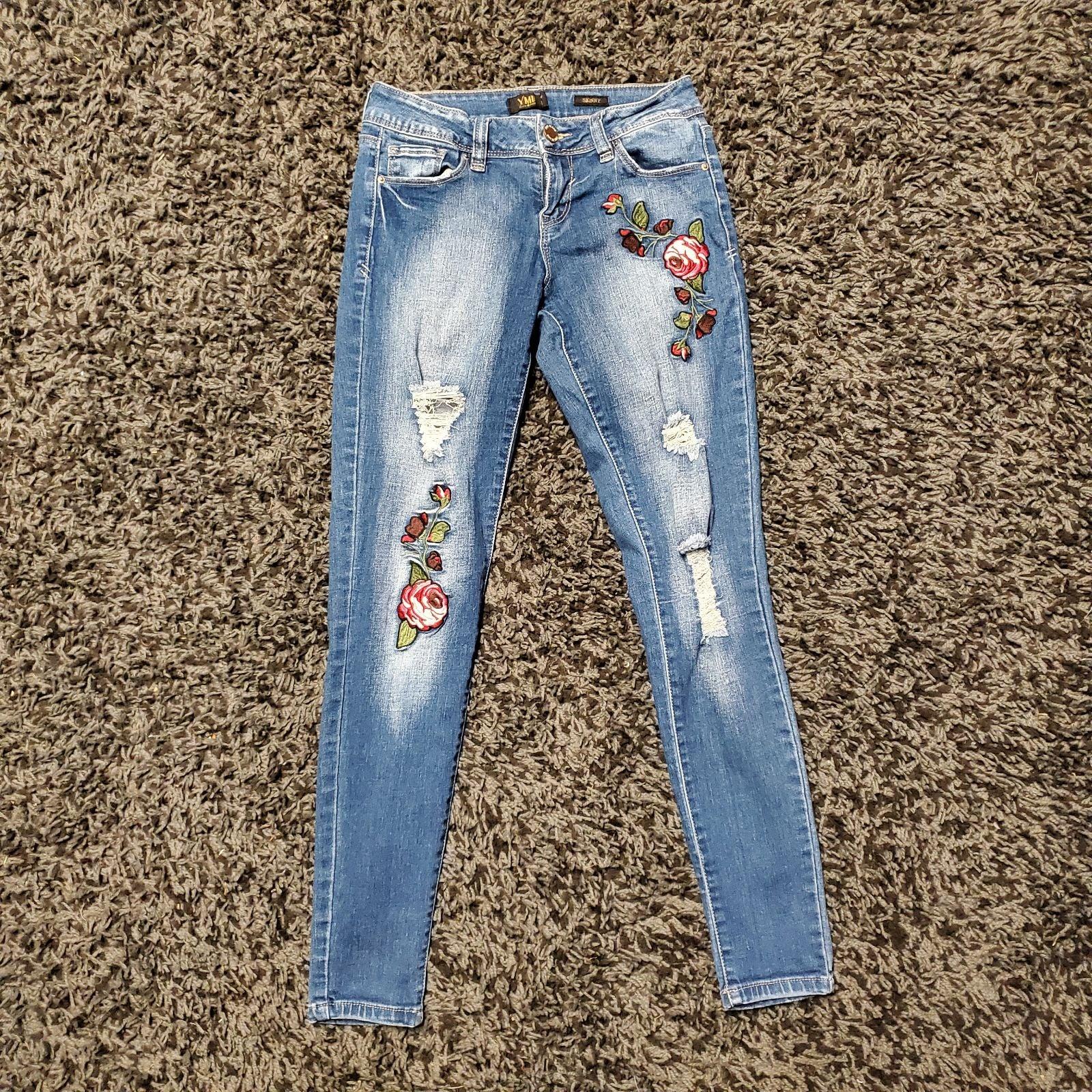 Size 3 YMI Rose Skinny Jeans