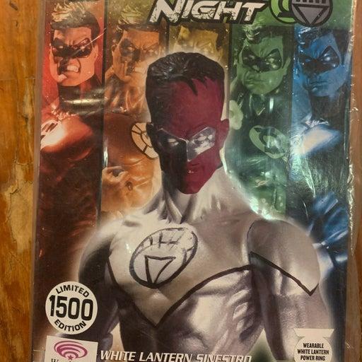 Blackest night white lantern Sinestro 20