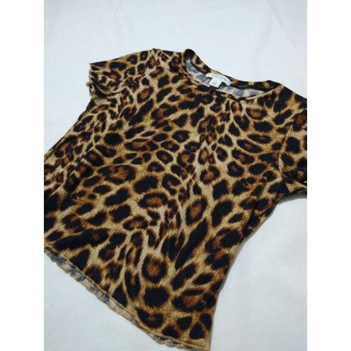 Animal Print Adam Levine blouse medium