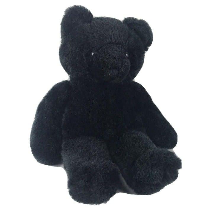 Vintage Russ Black Bear 20 Inch Plush