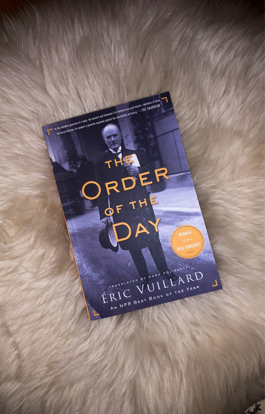 Book: The Order of the Day by Éric Vuill