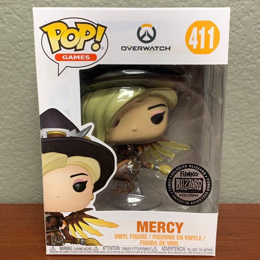 Funko Pop! Overwatch Mercy Halloween Wit