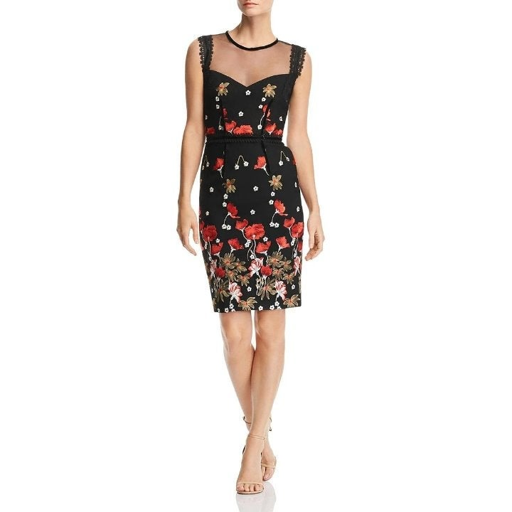 Bronx and Banco Embroidered Dress