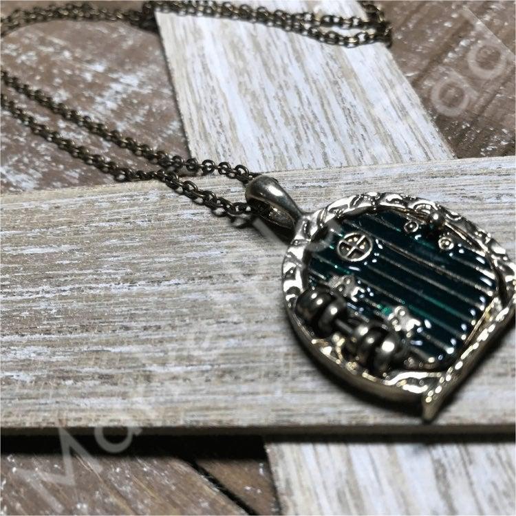"The Hobbit Locket Pendant Necklace 20"""