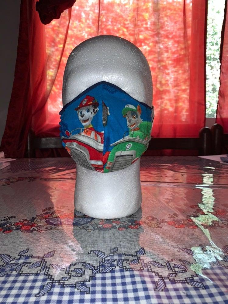 Paw patrol kids face mask