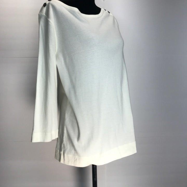 westbound XL top beige basic shirt