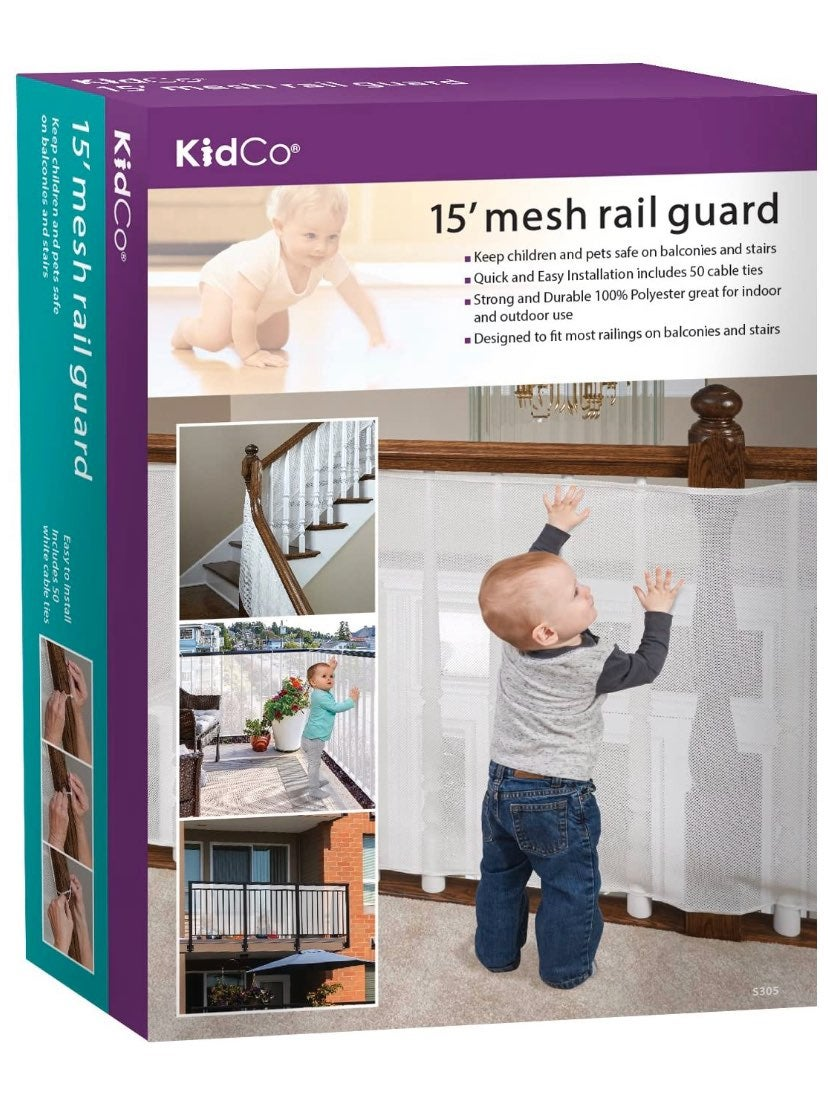 """Kidco 15"""" mesh rail gaurd"""
