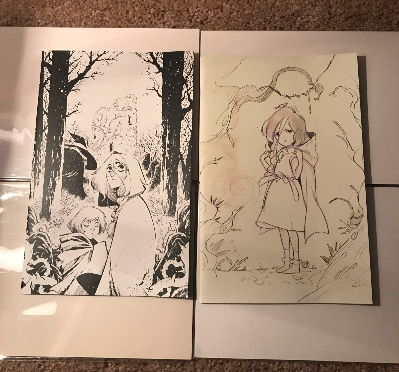 The Last Witch 1 Momoko Variant Lot of 2