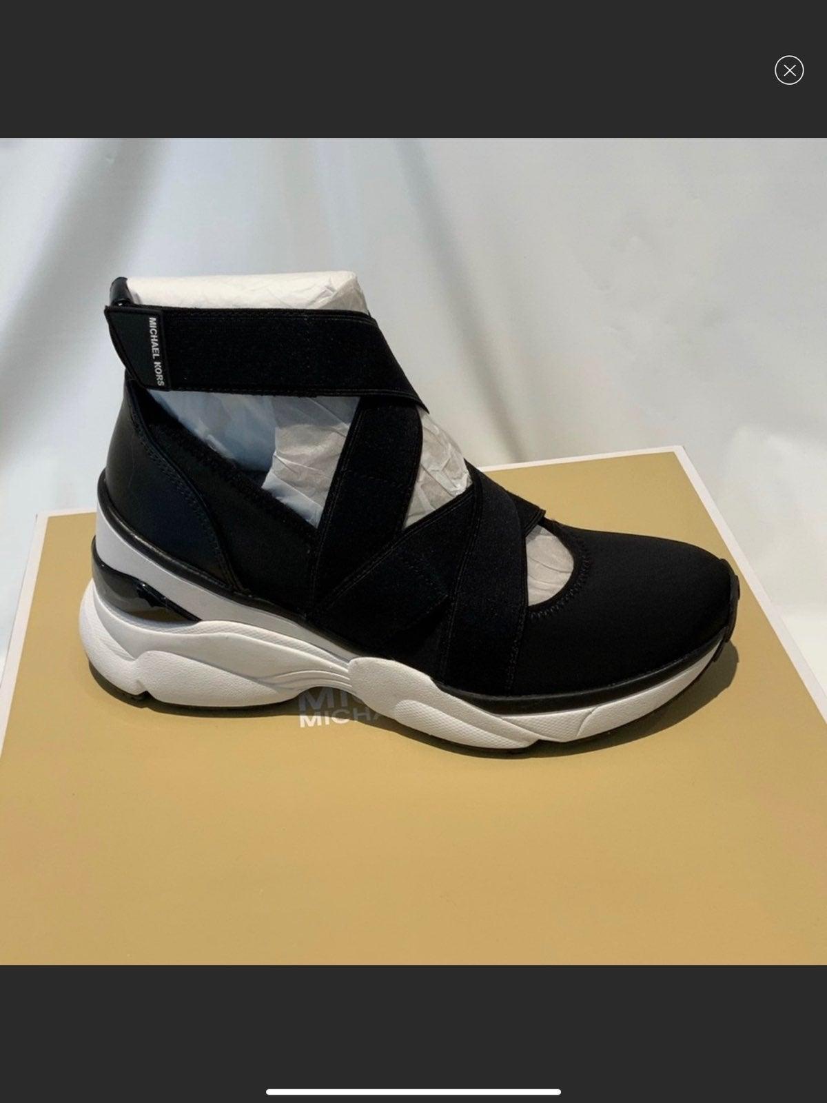 Michael Kors Womens Black Slip On Shoes