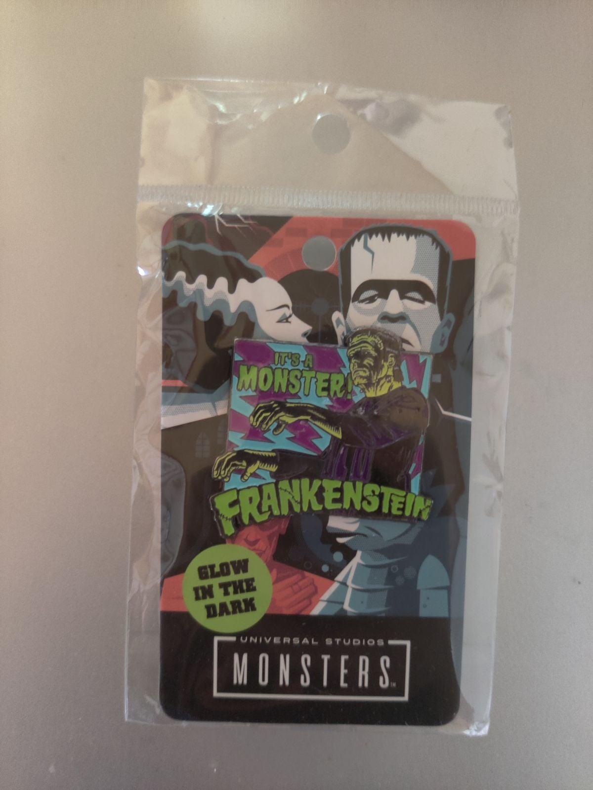 Frankenstein Enamel Pin