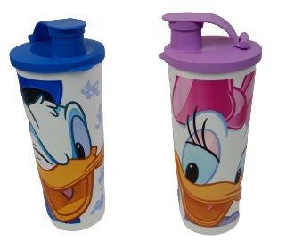 Tupperware Disney tumbler Donald & Daisy