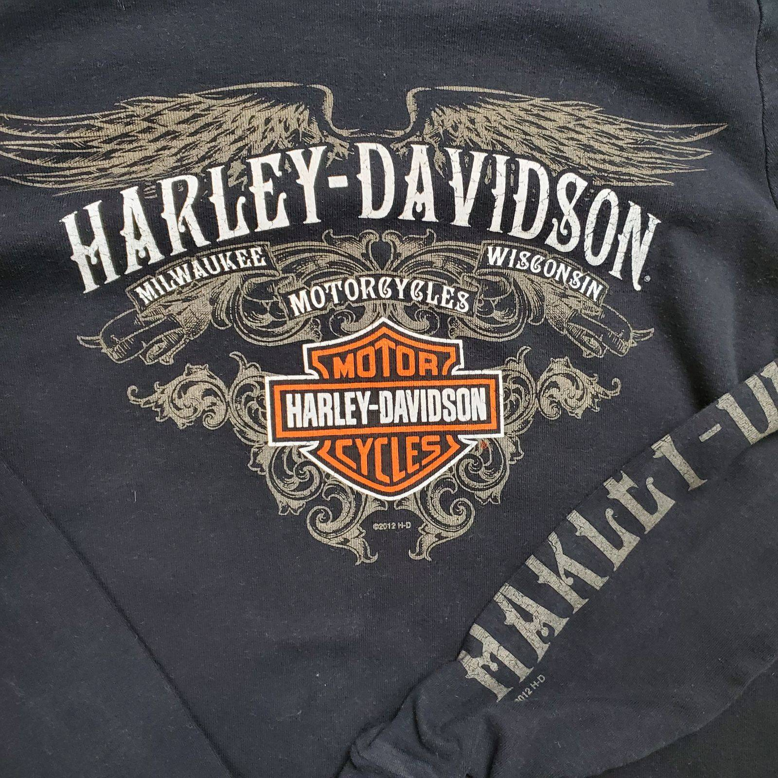 Harley Davidson Black Oslo, Norway Top M