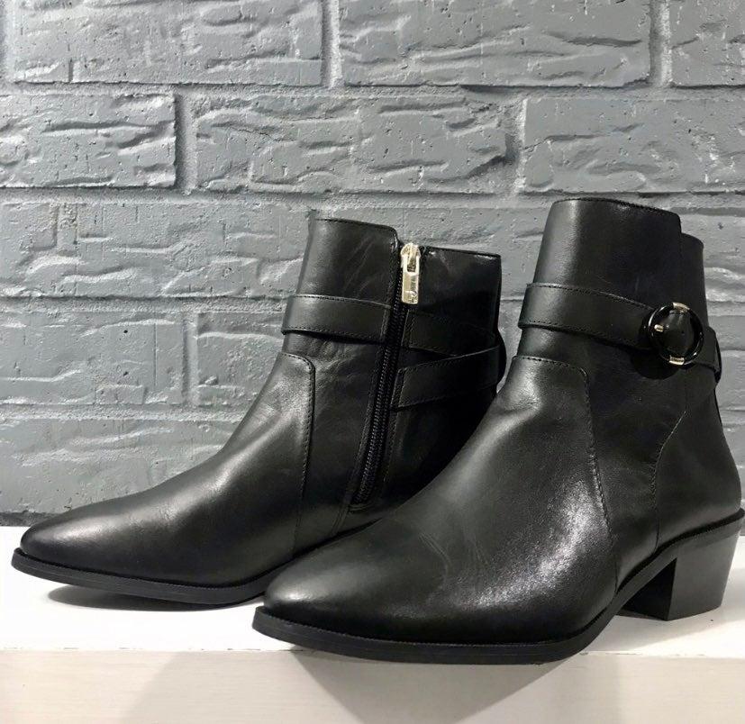 Taryn Rose SaraLita Leather Booties