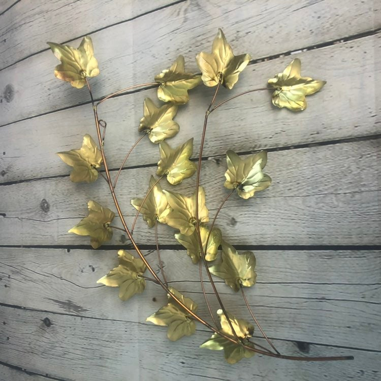 Brass & Copper English IVY Wall Hanging