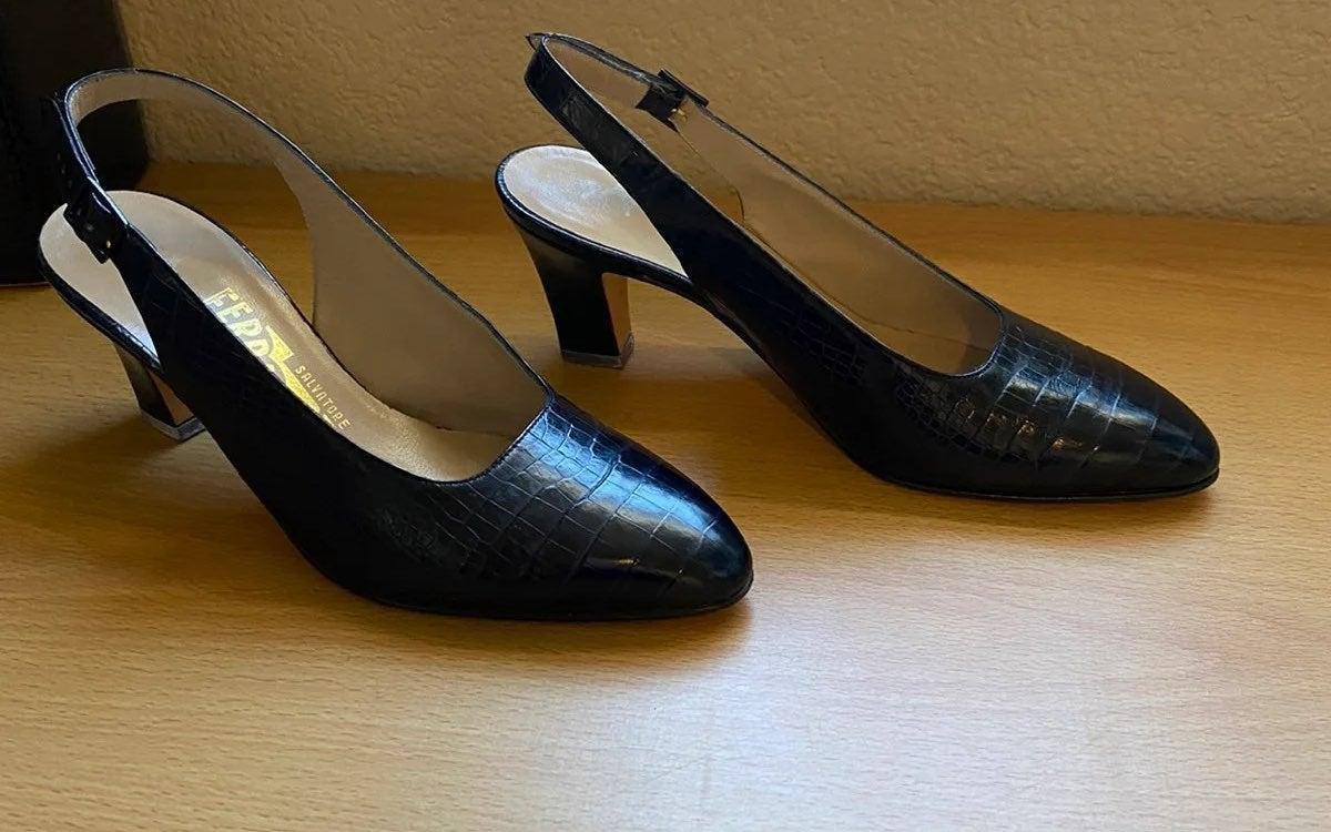 Salvatore Ferragamo Slingback Heels