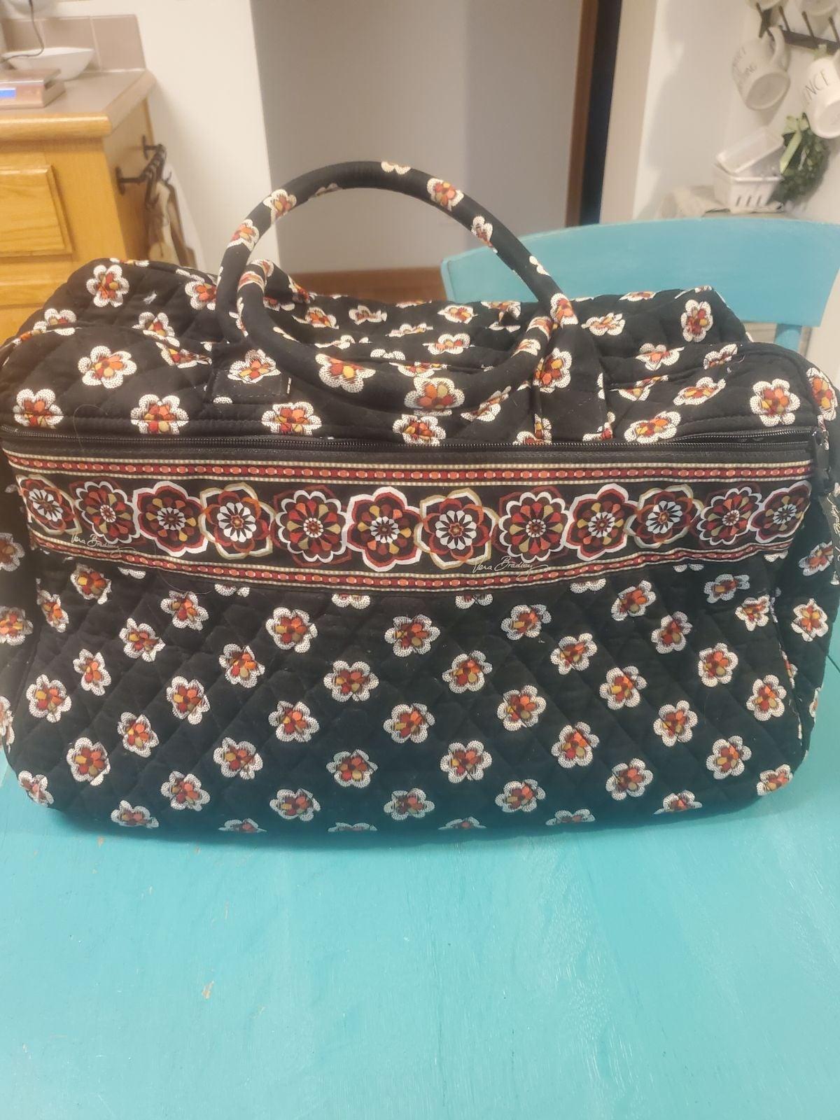 Vera Bradley weekender bag, EUC