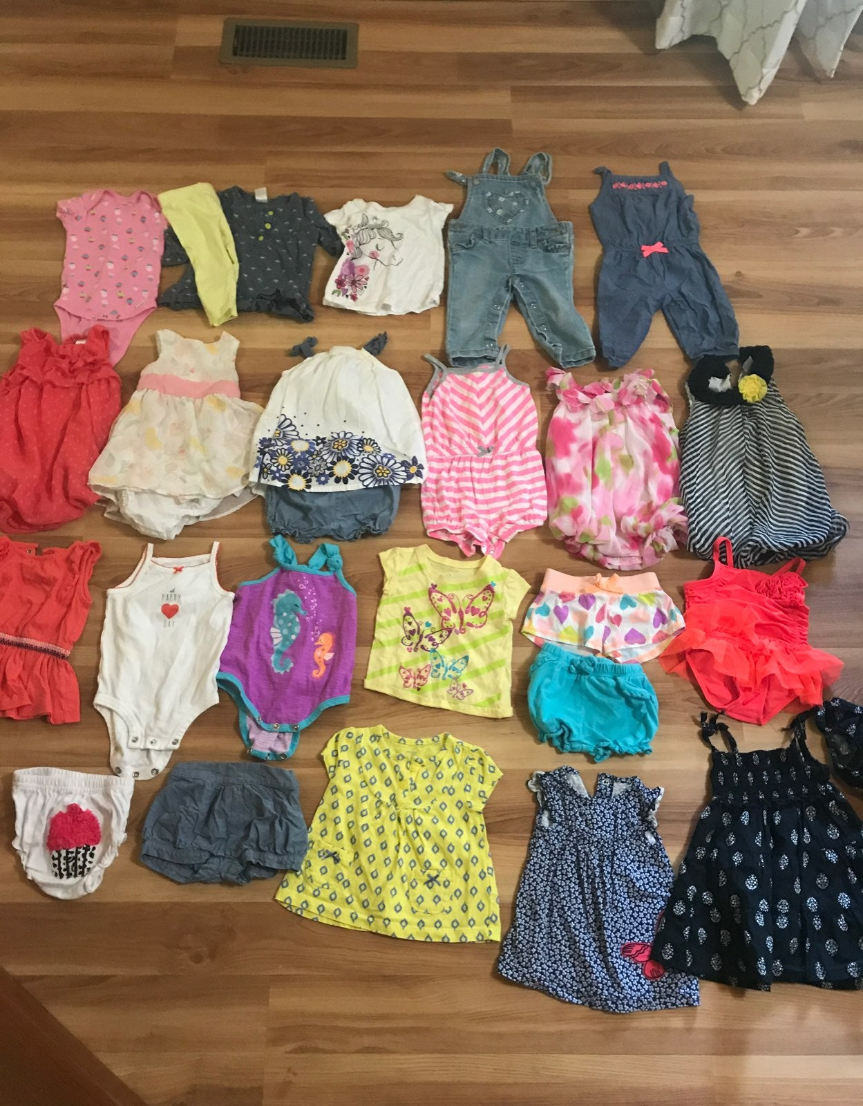 6-9 month summer girl clothes
