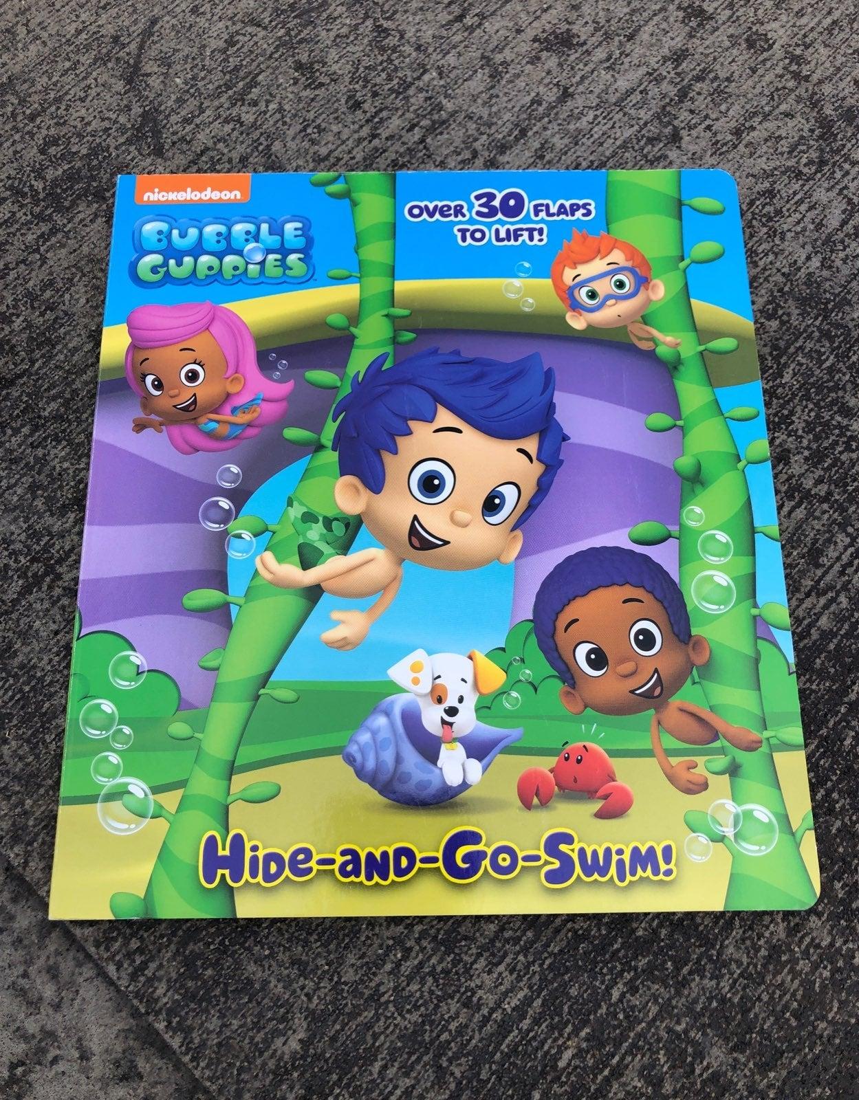 Bubble Guppies Flap Board Book