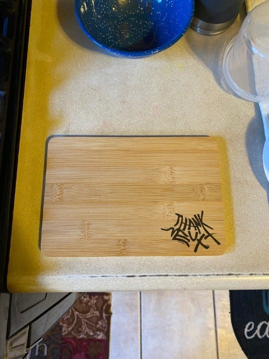 Ariana Grande Engraved Cutting Board
