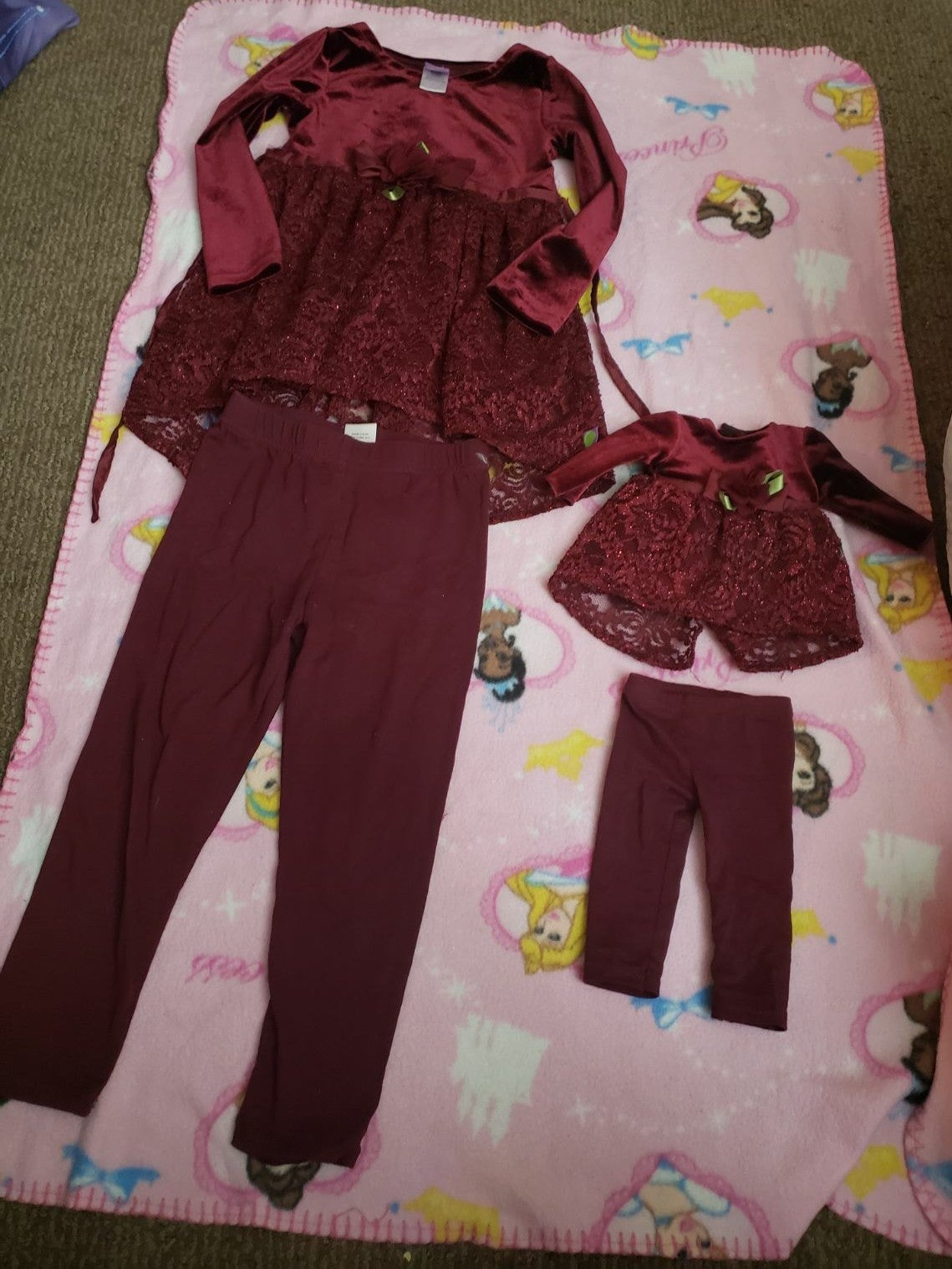 Dollie & me outfit size 4