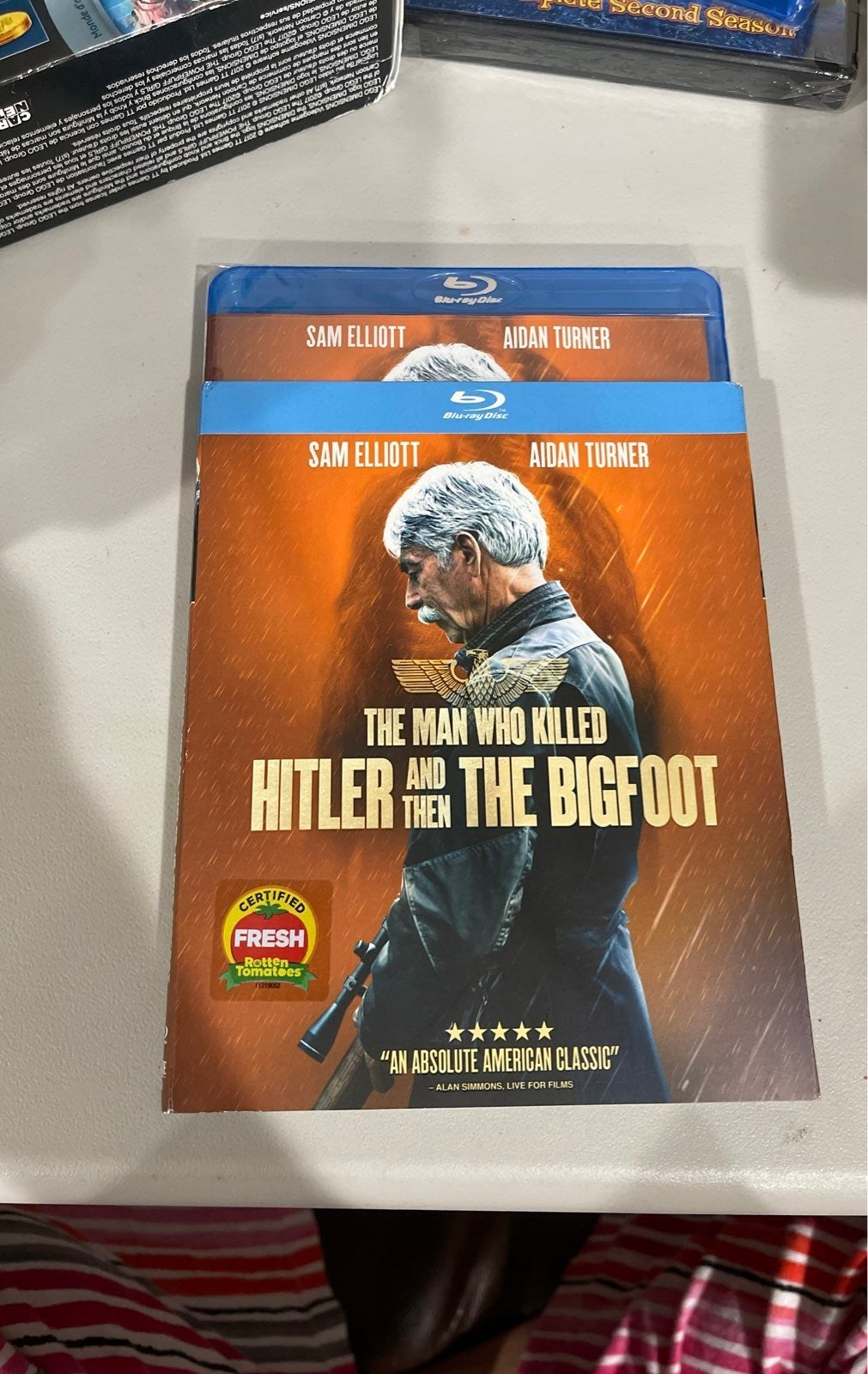 The Man who killed Hitler and then Big F