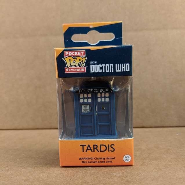 Funko Pocket Pop Doctor Who Tardis