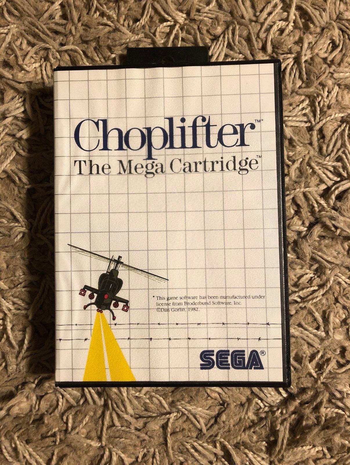 Choplifter for Sega Master System