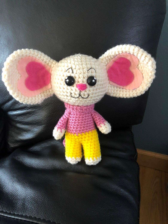 Potato mouse Netflix show handmade croch