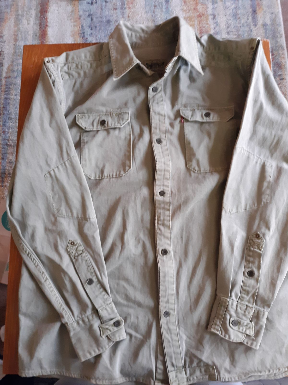 Large Levis strauss & company button up