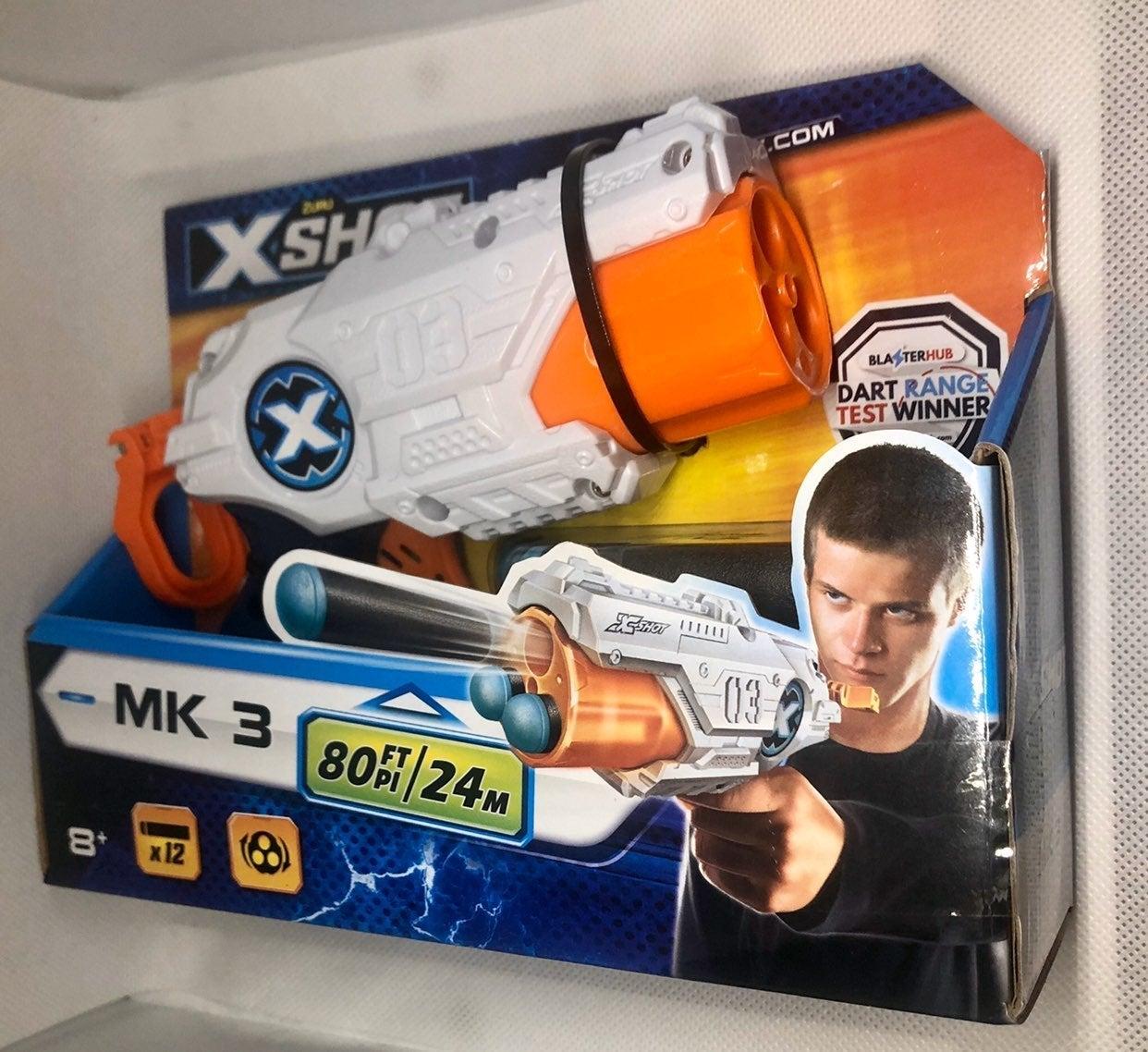 ZURU X-Shot MK3 Dart Blaster w/12 Darts