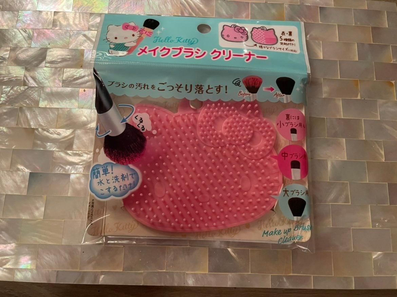 Hello Kitty makeup brush cleaner