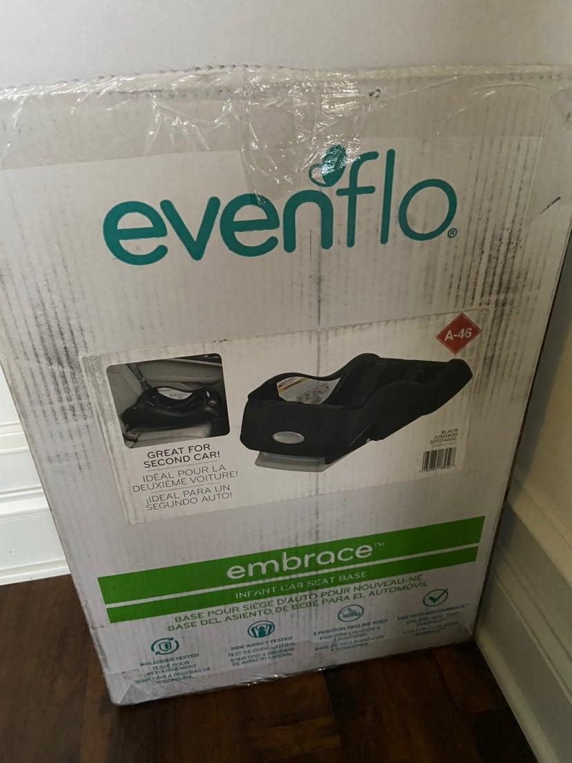 Evenflo embrace new carseat base