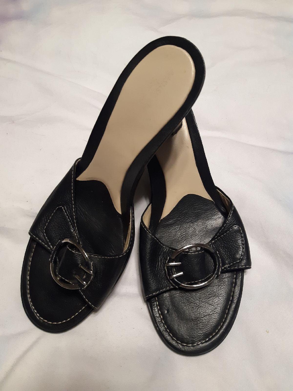Easy Spirit Black Heel 6.5