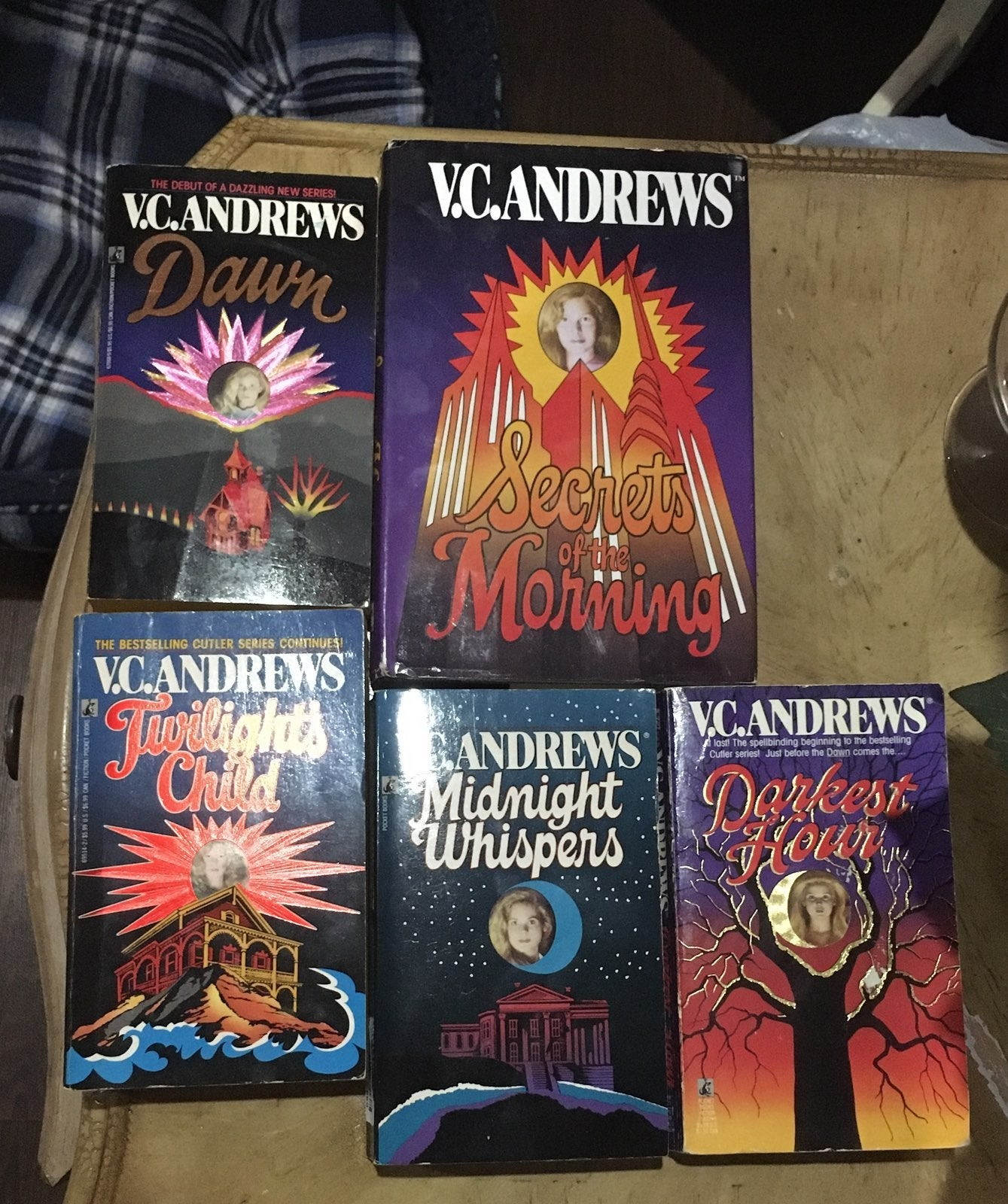 The Cutler Series by V.C. Andrews