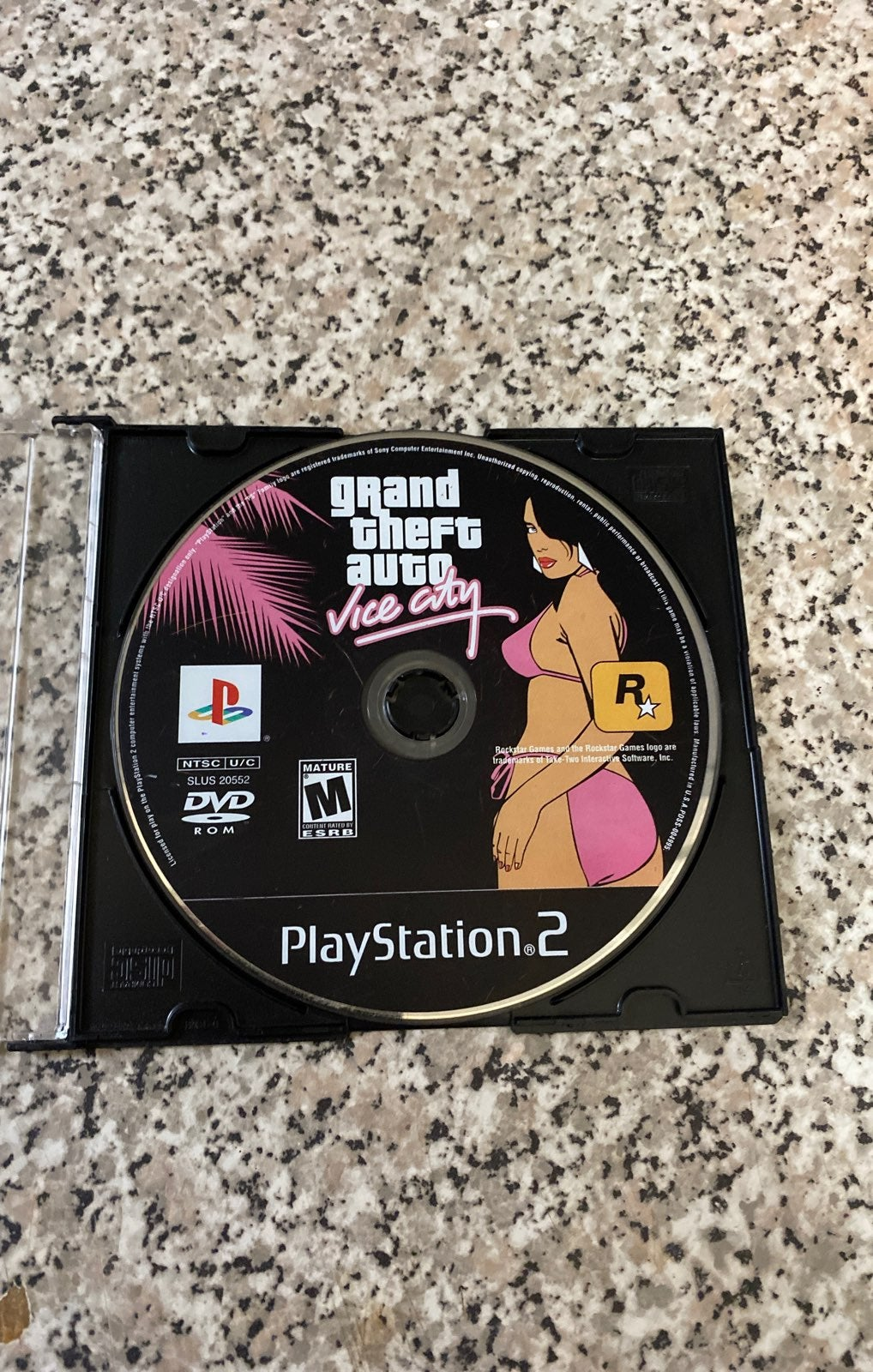 Sony PS2 Grandtheft auto vice city