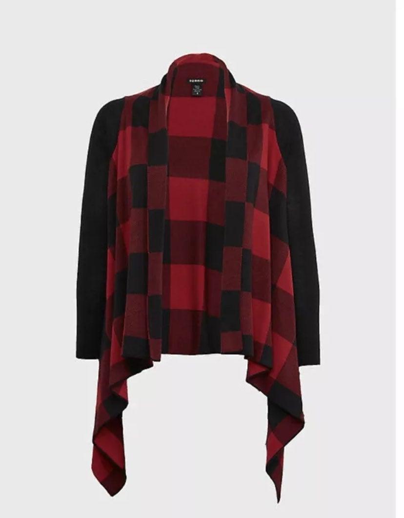 Torrid Drape Front Cardigan Size 0