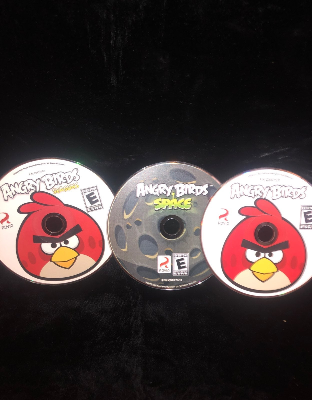 3 angry birds games
