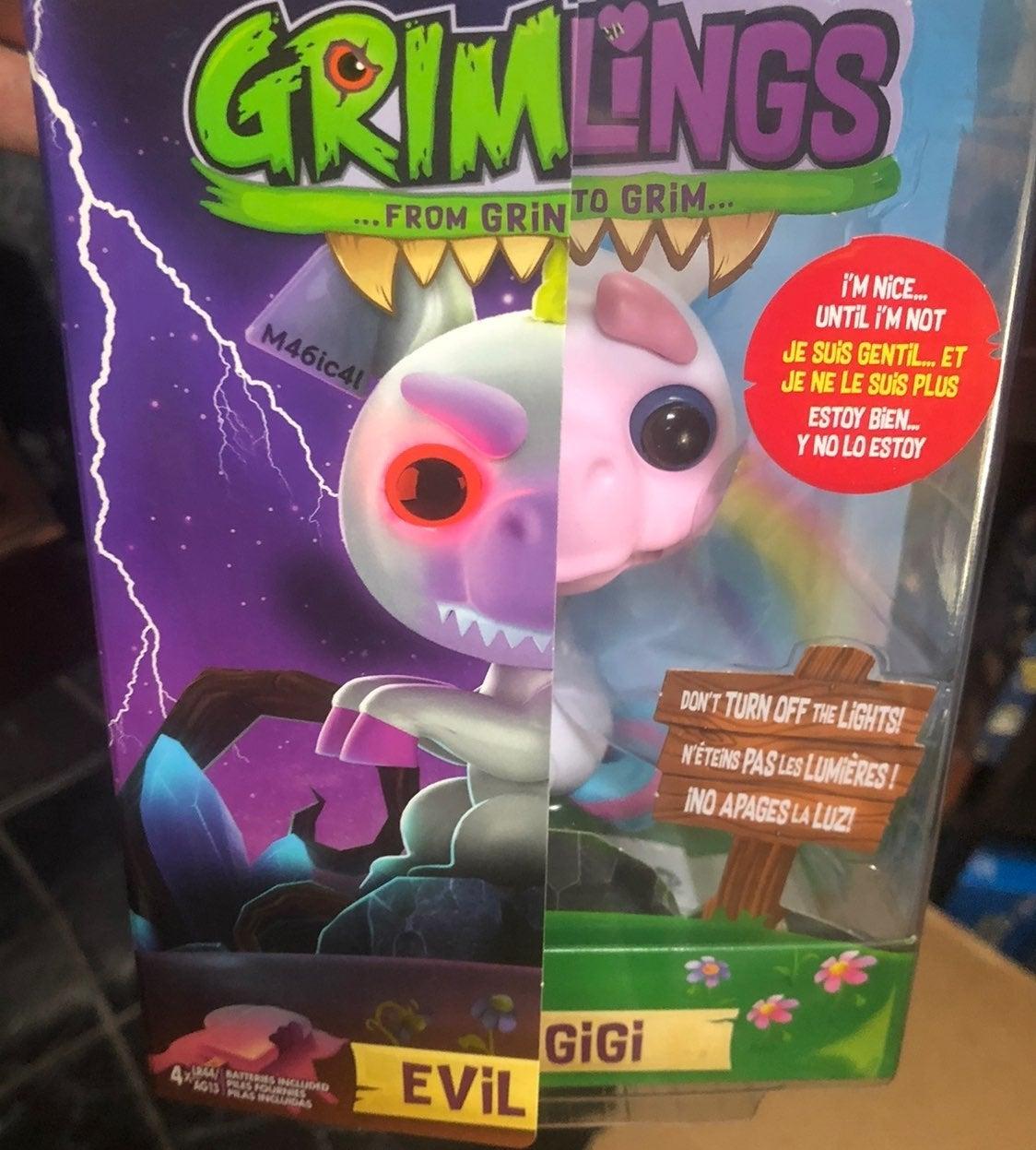Fingerlings GRIMLINGS Evil Gigi UNICORN