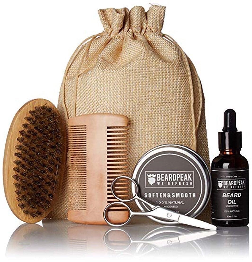 Beard Grooming & Trimming Gift Set