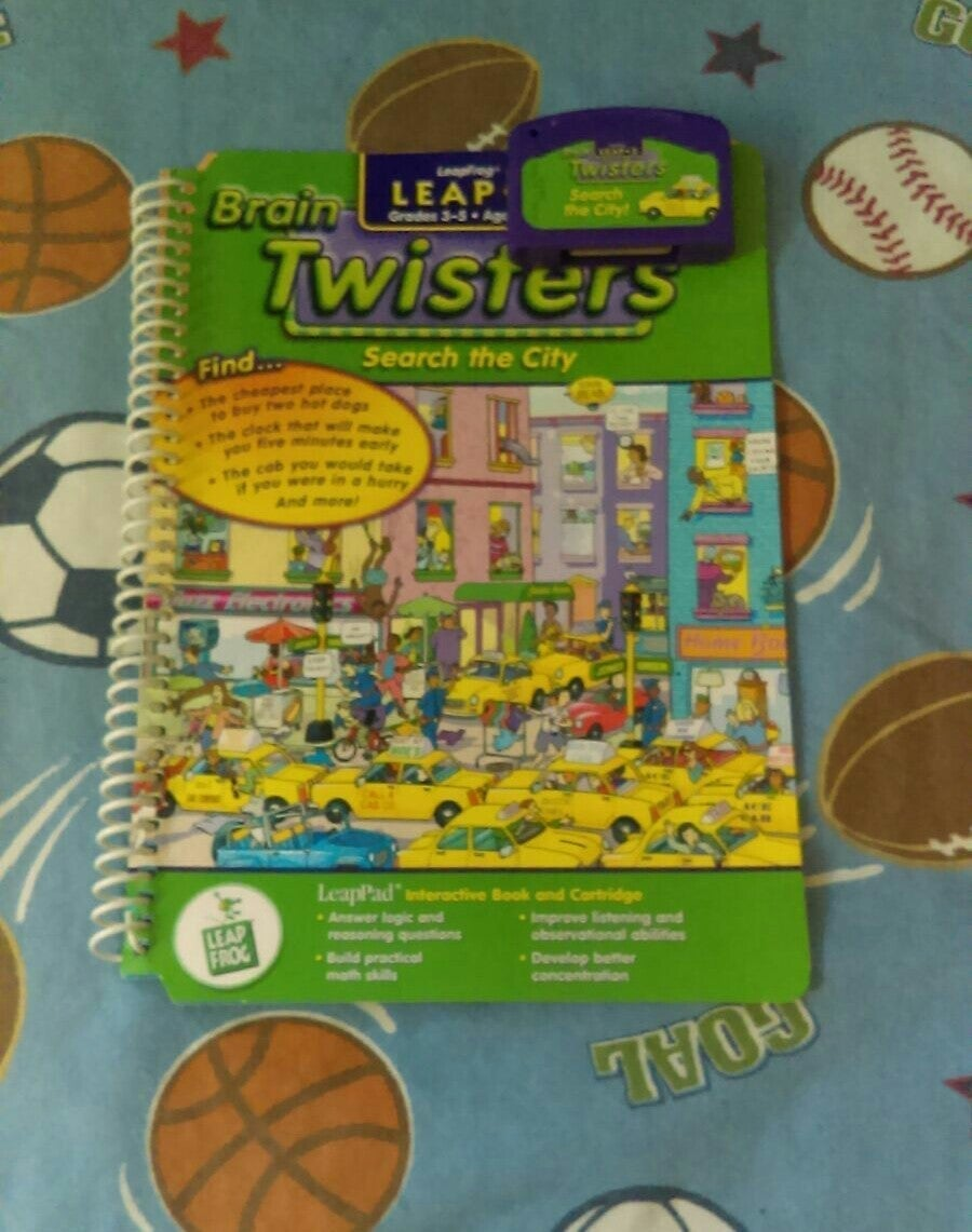 LeapFrog Twisters Book & Cart Grd 3-5