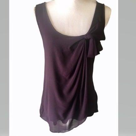 Gap Women's Sleeveless Top Purple Small