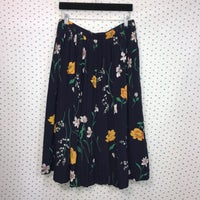 3726c478ac Alfred Dunner Blue Floral Pleated Skirt