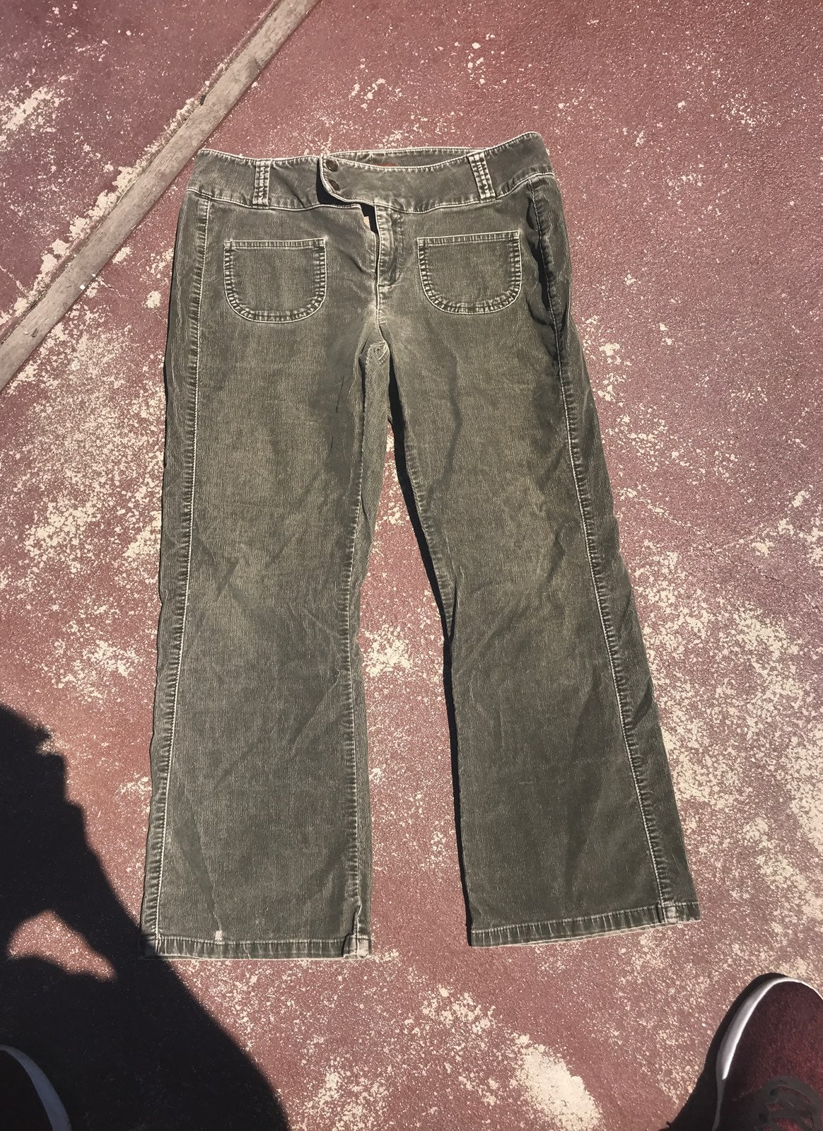 Lee Green Jeans Size 11/12 P